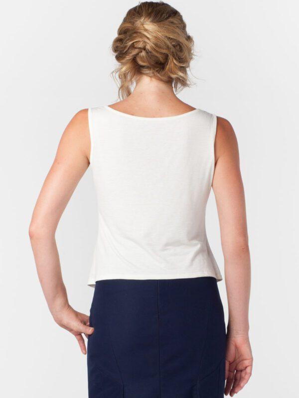 Camisole wool tencel natural clothing eco fashion Tara Lynn