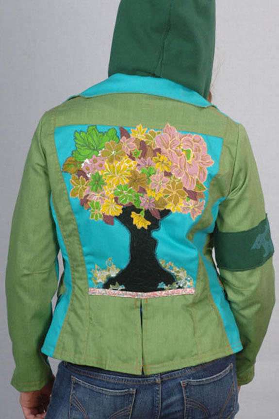 Lime Earth Bitch Jacket