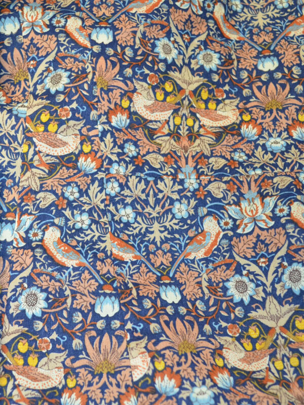 Lining Liberty of London Print Navy
