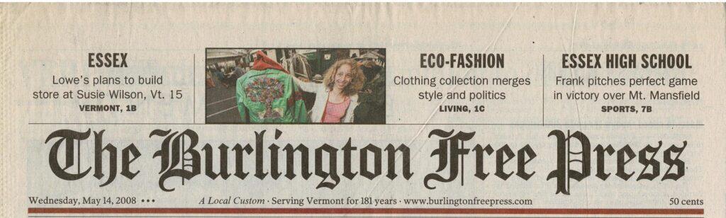 Eco-Fashion clothing brand Earth Bitch