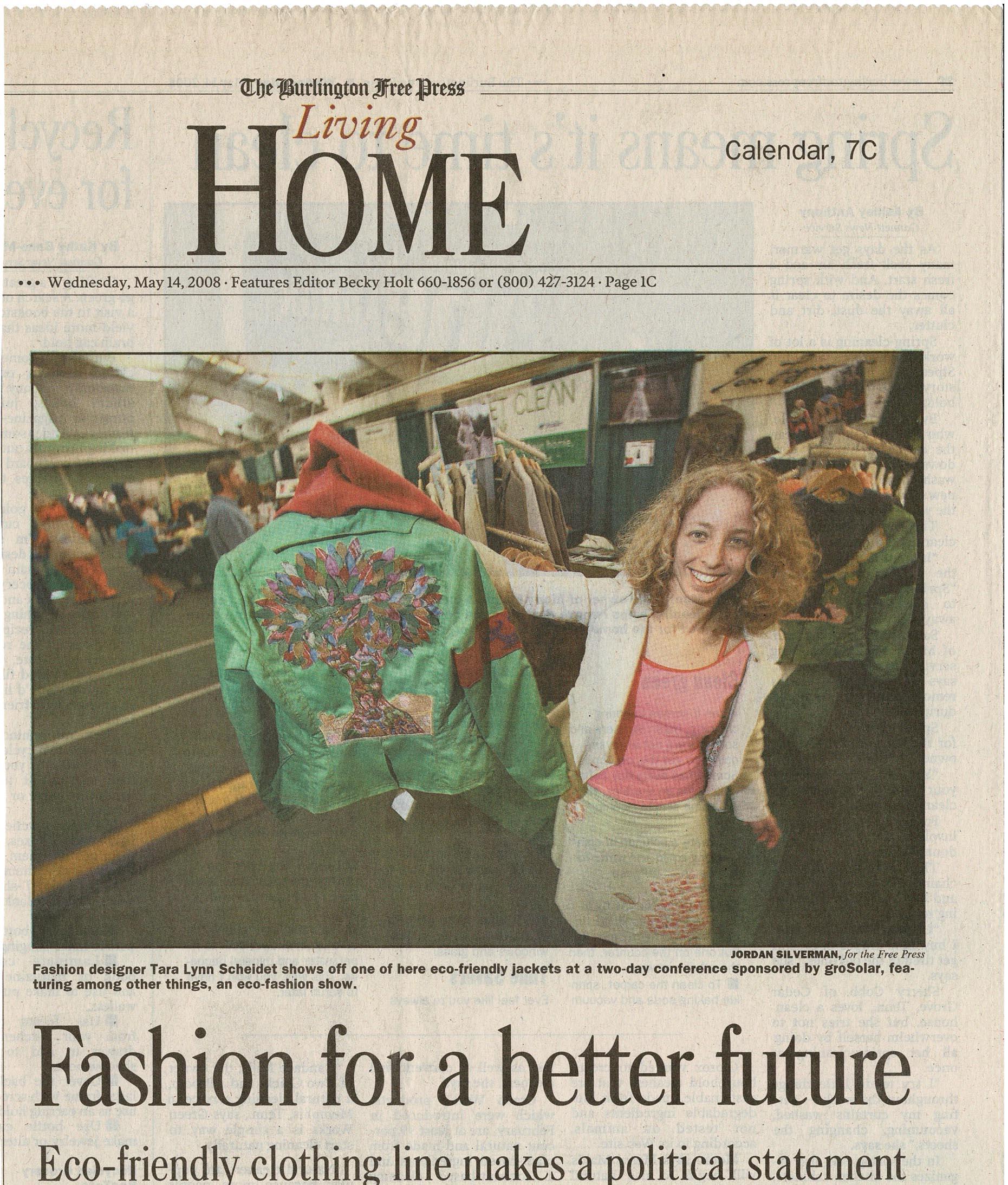 Fashion for a better future